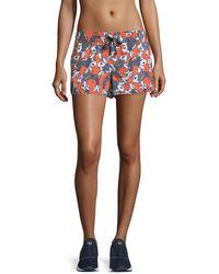 The Upside | Sea Of Koi Drawstring Running Shorts | Lyst
