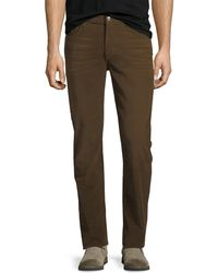 7 For All Mankind - Men's Adrien Stretch-corduroy Pants - Lyst