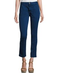 Ba&sh - Sally Cropped Jeans - Lyst