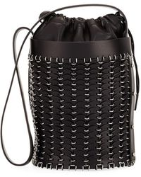 Paco Rabanne | 14#01 Drawstring Chain-link Bucket Bag | Lyst