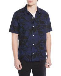 Vince - Men's Palm Leaf Cabana Shirt - Lyst