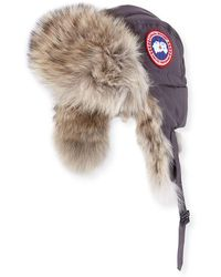 d06ef2bb284 Lyst - Canada Goose Aviator Hat in Red for Men