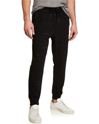 Hudson Jeans - Men's French Terry Jogger Pants - Lyst