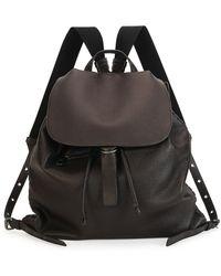 Bottega Veneta - Black Woven Backpack - Lyst