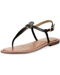 9b9abd20802552 Sam Edelman - Women s Gigi Thong Sandals - Lyst