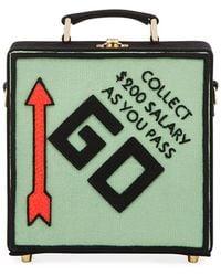 Olympia Le-Tan - Pass Go Monopoly Box Shoulder Bag - Lyst