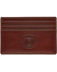 Ghurka - Slim Leather Card Case - Lyst