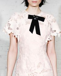 Lela Rose - Embellished Flower Bow Brooch - Lyst