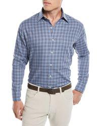 Peter Millar - Briar Hill Tartan Plaid Sport Shirt - Lyst