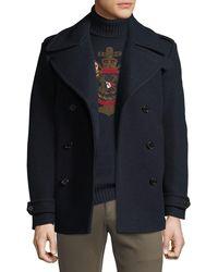 Ralph Lauren - Men's Wool/cashmere Pea Coat - Lyst