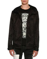 Just Cavalli - Embroidered Wind-resistant Jacket - Lyst