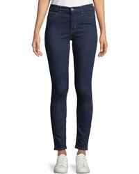 M.i.h Jeans - Bridge High-rise Skinny Ankle Jeans - Lyst