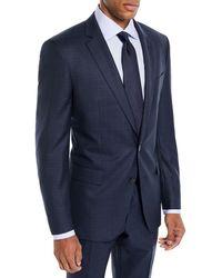 BOSS - Men's Broken Box Wool Two-piece Suit - Lyst