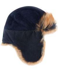 UGG - Toscana Long-pile Fur Trapper Hat - Lyst