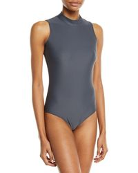 470fe4fa34 Cover - Upf 50 Sleeveless One-piece Swimsuit - Lyst
