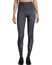 Onzie - High-rise Firefly Graphic Performance Leggings - Lyst