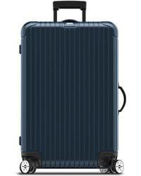 "Rimowa - Salsa Electronic Tag Matte Blue 29"" Multiwheel Luggage - Lyst"