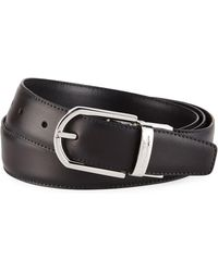 Ermenegildo Zegna - Men's Reversible Leather Belt - Lyst