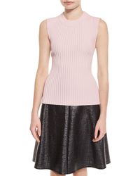 Creatures of the Wind - Ribbed Sleeveless Sweater - Lyst