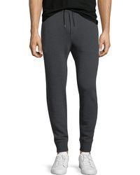 Ralph Lauren - Tapered-leg Cotton-blend Sweatpants - Lyst