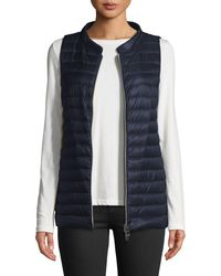Herno | Classic Channel-quilt Nylon Vest | Lyst