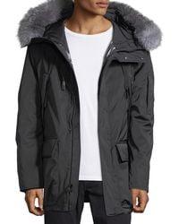 Andrew Marc - Explorer Waterproof Fur-trimmed Parka Coat - Lyst