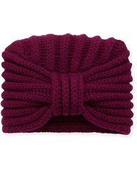 Rosie Sugden - Classic Cashmere Head Turban - Lyst