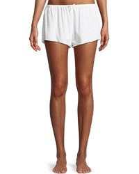 Xirena - Shaya Lightweight Cotton Lounge Shorts - Lyst