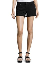 7 For All Mankind - Cutoff Denim Shorts - Lyst