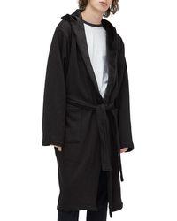 02ffd0e0e2 Lyst - UGG Brunswick Robe (rock Ridge Heather) Men s Robe in Black ...