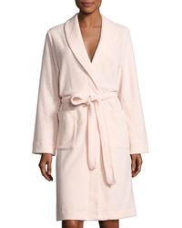 Hanro - Plush Basic Tie-waist Robe - Lyst