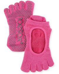 ToeSox - Bellarina Ruby Grip Full Toe Athletic Socks - Lyst