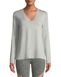 Beyond Yoga - Time To Split-back Pullover Sweatshirt - Lyst