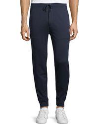 Ralph Lauren - Track Jogger Pants With Stripe Trim - Lyst