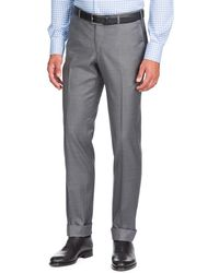 Isaia - Aquaspider Wool Dress Pants - Lyst