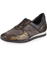 Sesto Meucci - Candy Metallic Trainer Sneaker - Lyst