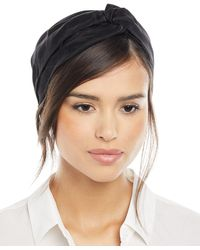Jennifer Behr - Ingrid Silk Turban Headband - Lyst