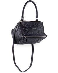 Lyst - Givenchy Small Antigona Grained Leather Bag in Gray 7af78b1028