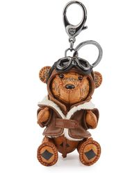 MCM - Aviator Bear Charm For Handbag - Lyst
