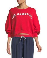 """Joie - Caleigh """"the Hamptons"""" Crewneck Sweatshirt - Lyst"""
