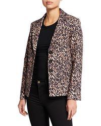 Nanette Lepore - Bon Voyage Leopard-print Blazer - Lyst
