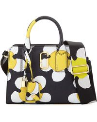 Marc Jacobs - Little Big Shot Daisy Saffiano Leather Tote Bag - Lyst
