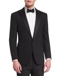 Ralph Lauren - Anthony Peak-lapel One-button Wool Tuxedo - Lyst