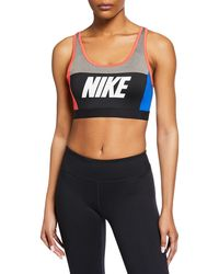 b9b1539713c12 Lyst - Jockey Zip-front High Impact Seamless Sports Bra 8656 in Black