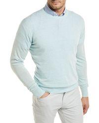 Peter Millar - Crown Cool Crewneck Wool-blend Sweater - Lyst