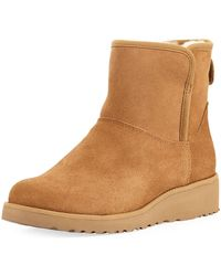 UGG - Quincy Suede Ankle Boots - Lyst