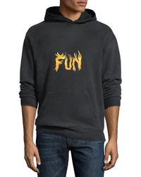 Givenchy - Men's Fun Graphic Cotton Hoodie - Lyst