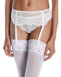 Simone Perele - Eden Lace Suspenders Garter Belt - Lyst
