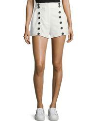A.L.C. - Issac High-waist Sailor Shorts - Lyst