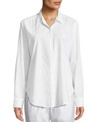 Xirena - Beau Poplin Lounge Shirt - Lyst